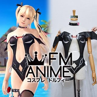 Dead or Alive Xtreme 3 Marie Rose Devil Swimsuit Cosplay Costume