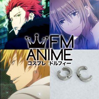 K Project (anime) Mikoto Suoh / Tatara Totsuka / Kuroko's Basketball Ryota Kise Earrings Cosplay Accessories