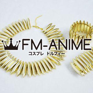 [Display] Fate/Zero (series) Archer Gilgamesh Metal Necklace & Bracelet Set Cosplay