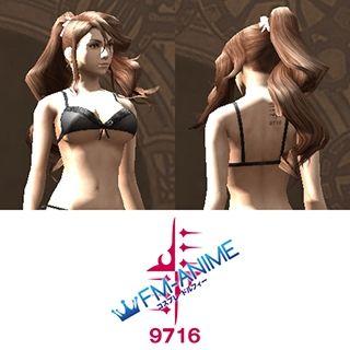 Final Fantasy Type-0 Emina Cosplay Tattoo Stickers