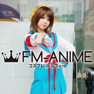 Fm Anime Haruhi Suzumiya Female Winter School Uniform Cosplay Costume