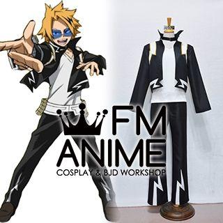 Fm Anime My Hero Academia Denki Kaminari 2nd Version Cosplay Costume