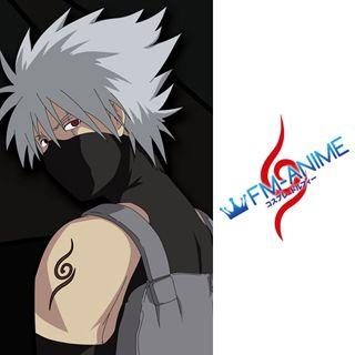 Naruto Kakashi Hatake Anbu Cosplay Tattoo Stickers