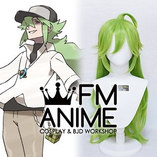 Pokemon Black and White N Natural Harmonia Gropius Cosplay Wig
