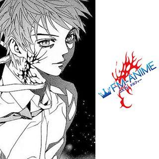 Rosario + Vampire Tsukune Aono Cosplay Tattoo Stickers