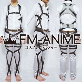 Attack on Titan Corps 3-D Maneuver Gear Belts System Cosplay Costume