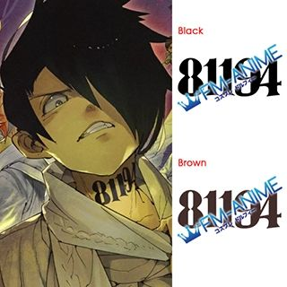The Promised Neverland Ray 81194 Number Cosplay Tattoo Stickers