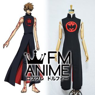 Tsubasa: Reservoir Chronicle Syaoran Black Cosplay Costume
