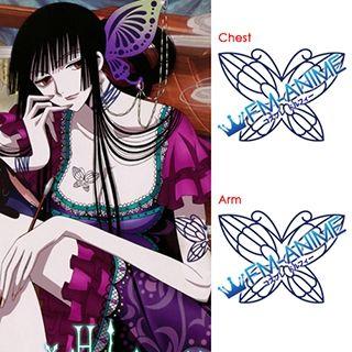 xxxHOLiC Kei Season 2 Yuko Ichihara Cosplay Tattoo Stickers