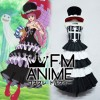 One Piece Perona After 2 Years Cosplay Costume with Hat