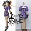 Suikoden III Lilly Pendragon Cosplay Costume with Hat