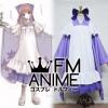 Vocaloid Megurine Luka Senbonzakura Maid Kimono Cosplay Costume