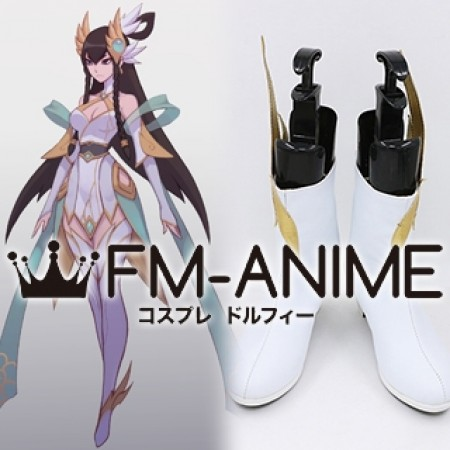 League of Legends Divine Sword Irelia Cosplay Shoes Boots