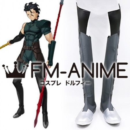 Fate/Zero Lancer Diarmuid Ua Duibhne Cosplay Shoes Boots