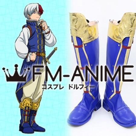 My Hero Academia Shouto Todoroki ED2 Prince Cosplay Shoes Boots