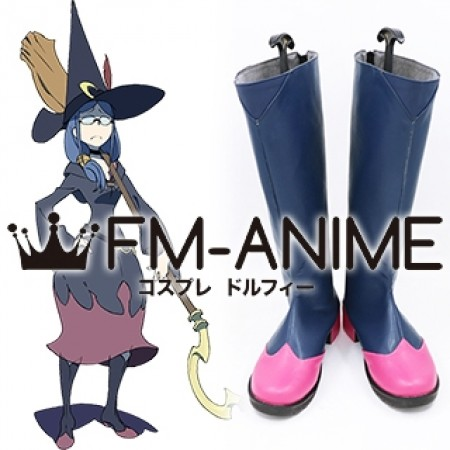 Little Witch Academia Ursula Callistis Cosplay Shoes Boots