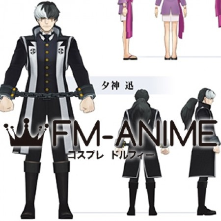 Ace Attorney-Simon Blackquill cosplay anime Wig