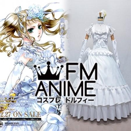Black Butler Elizabeth Midford Lizzie Manga Volume 13 Wedding Dress Cosplay Costume