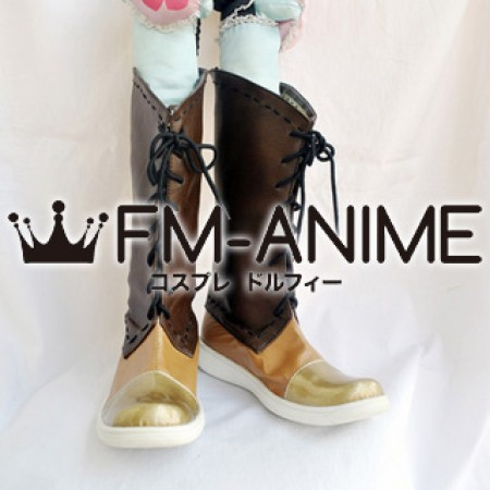 Ys Origin Yunica Tovah Cosplay Shoes Boots