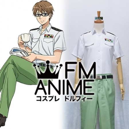 Cells at Work! Helper T Cell Cosplay Costume