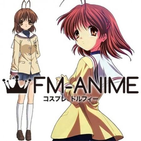 Anime CLANNAD Furukawa Nagisa Cosplay Costume Party School Dress Uniforms