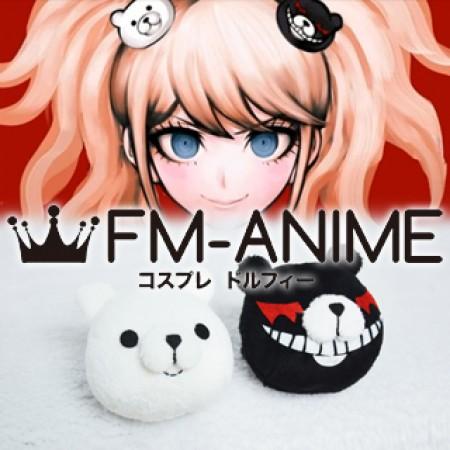 Danganronpa: Trigger Happy Havoc Junko Enoshima & Mukuro Enoshima Cosplay Headdress Plush Doll (Bears)