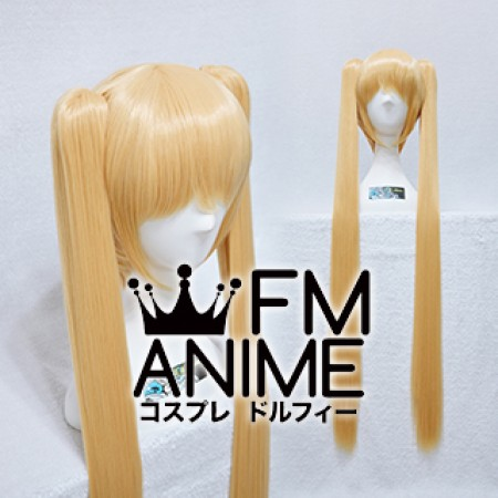 Long Length Clips on Straight Prince Gold Cosplay Wig (100cm)