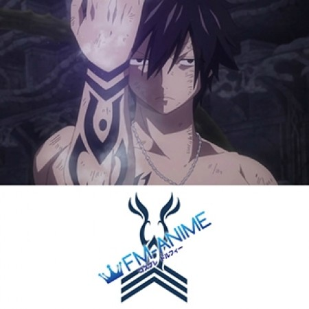 Fairy Tail Grey Fullbuster Ice Demon Slayer Cosplay Tattoo Stickers