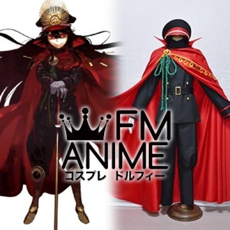 Fate/Grand Order Nobunaga Oda Demon Archer Military Uniform