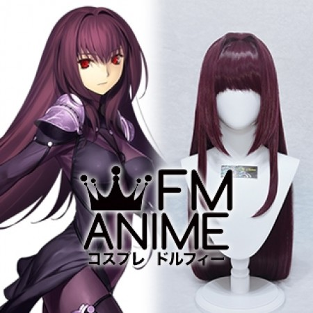 Fate/Grand Order Scathach Lancer Cosplay Wig