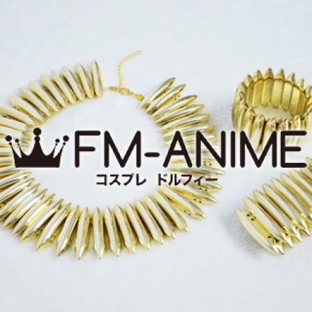 [Display] Fate/Zero (series) Archer / Gilgamesh Metal Necklace & Bracelet Set Cosplay