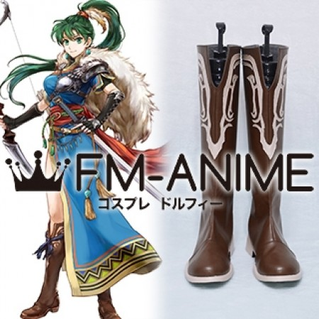 Fire Emblem Heroes Legendary Lyn Lady of the Wind Cosplay Shoes Boots