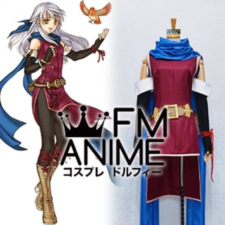 Fire Emblem: Radiant Dawn Micaiah Cosplay Costume (Female XS / XL)