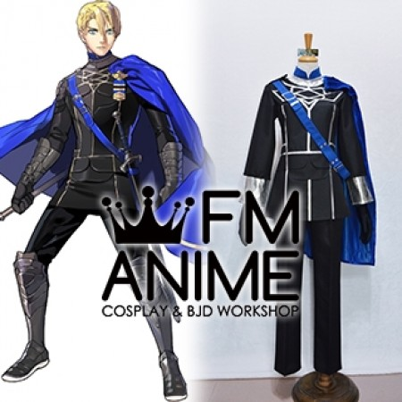 Fire Emblem: Three Houses Dimitri Alexandre Blayddid Military Uniform Cosplay Costume