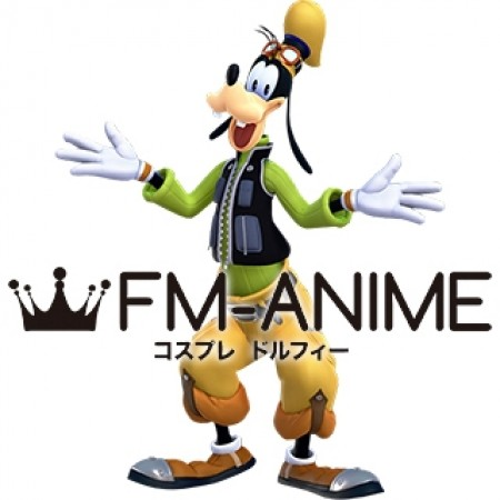 Kingdom Hearts III 3 Goofy Human Cosplay Costume