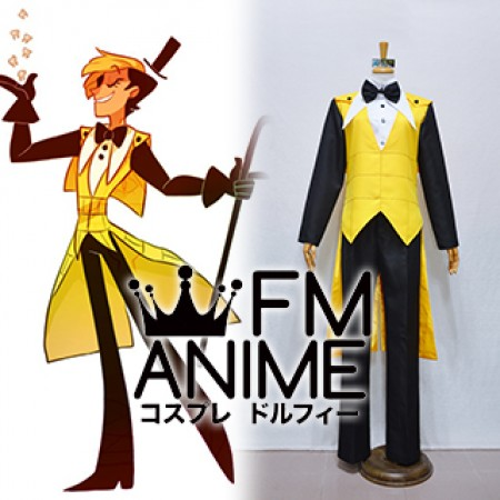 Gravity Falls Bill Cipher Human Cosplay Costume