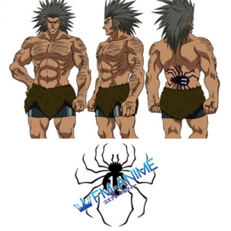 Hunter × Hunter Uvogin Spider Cosplay Tattoo Stickers