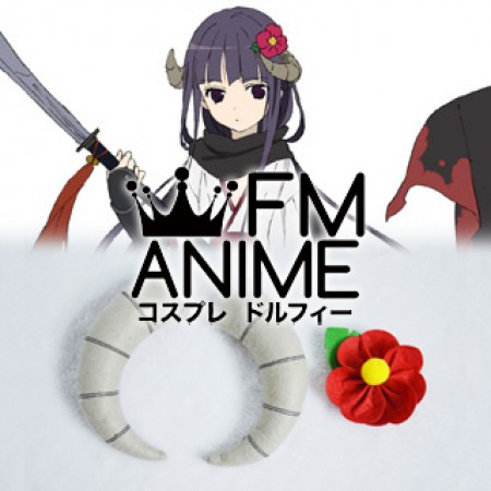 [Display] Inu x Boku SS Ririchiyo Shirakiin Kimono Cosplay Headdress Plush Doll