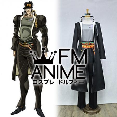 JoJo/'s Bizarre Adventure Jotaro Kujo Cosplay Costume Blue Coat Full Set:B