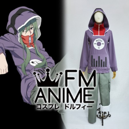 Kagerou Project Tsubomi Kido Cosplay Costume (Anime Version)