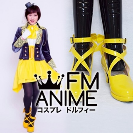 Super Sentai Series Kaitou Sentai Lupinranger VS Keisatsu Sentai Patranger Umika Hayami Lupin Yellow Cosplay Shoes