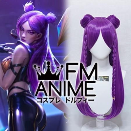 League of Legends K/DA Kai'Sa Virtual K-pop Band Cosplay Wig
