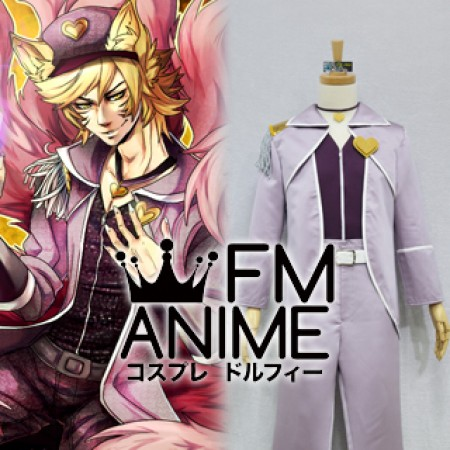League of Legends Popstar Ahri Skin (Male) Cosplay Costume