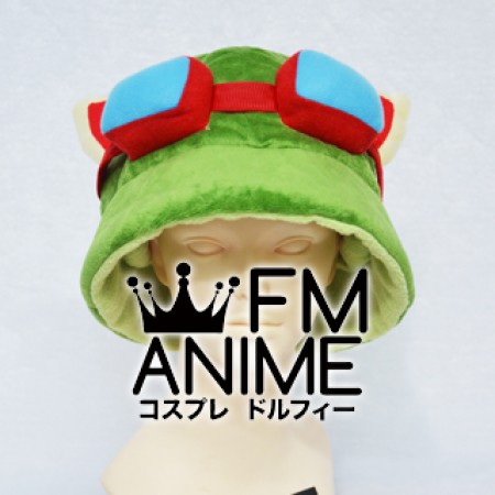 League of Legends Teemo Cosplay Hat Plush Doll