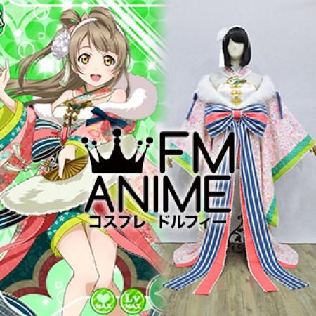 Love Live Kotori Minami Sr Card An Amazing First Dream Kimono
