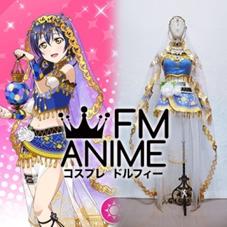 Love Live! Umi Sonoda Arab Dancer Cosplay Costume with Accessories