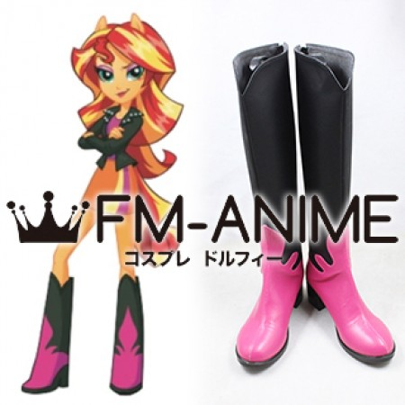 cdada2296ced My Little Pony: Equestria Girls Sunset Shimmer Cosplay Shoes Boots