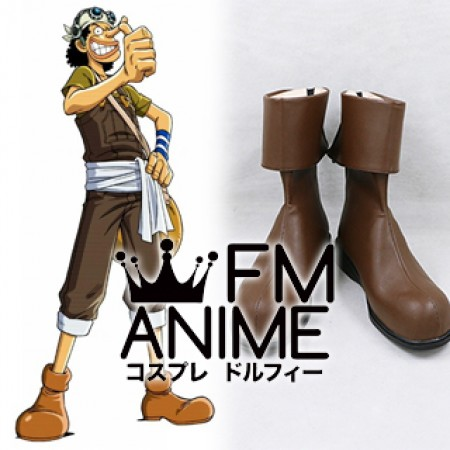 One Piece Usopp Cosplay Shoes Boots