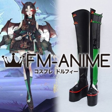 Onmyoji Vampira Kyuketsu Hime Alternative Skin Cosplay Shoes Boots
