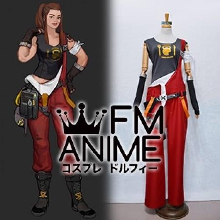 Overwatch Brigitte Cosplay Costume
